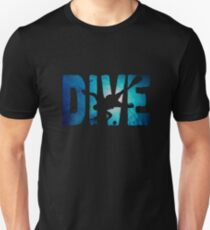 Scuba Diving t-Shirt ~Diver in The Deep Water T-Shirt
