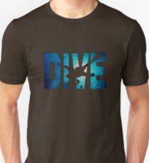 Scuba Diving t-Shirt ~Diver in The Deep Water T-Shirt