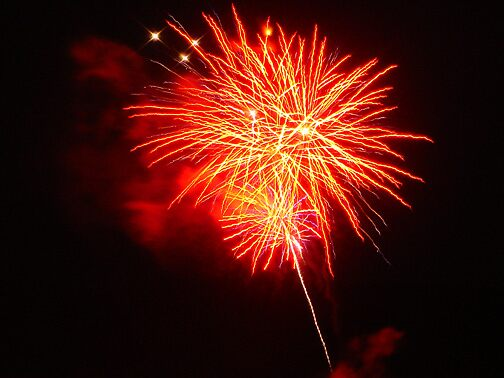 Fireworks Picture 2 by Arlita Marie Moles