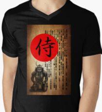 Samurai 2 T-Shirt mit V-Ausschnitt