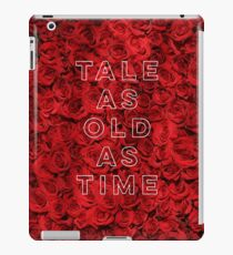 Tale As Old As Time - Beauty and the Beast iPad Case/Skin