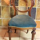 Victorian 1850's Rosewood Balloon-back Chair by Hedgie's Nature & Gardening Journal