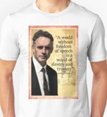 """A World Without Freedom Of Speech"" - Jordan B Peterson T-Shirt"