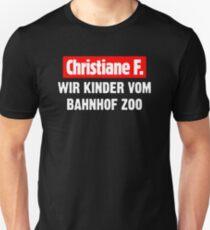 Christiane F. WIR KINDER VOM BAHNHOF ZOO Slim Fit T-Shirt