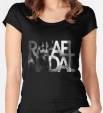 rafael nadal tshirt Women's Fitted Scoop T-Shirt