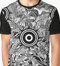 Alien Brain Waves Graphic T-Shirt