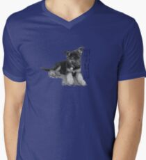 You Can't Say No To A GSD Mens V-Neck T-Shirt