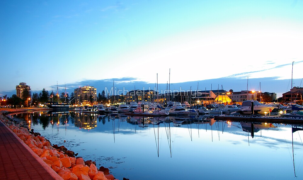 Holdfast Bay Marina, South Australia by Michael Humphrys