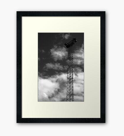 Light Tower Framed Print