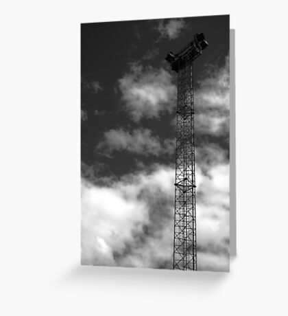 Light Tower Greeting Card