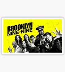 brooklyn nine nine Sticker