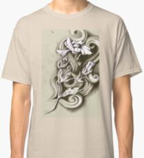 charcoal daisies  Classic T-Shirt