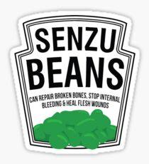Senzu Beans Parody Sticker