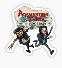 Adamantium Time Sticker