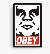 obey the giant Canvas Print