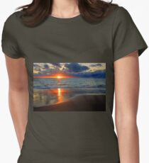 Sunset At Point Peron  Womens Fitted T-Shirt