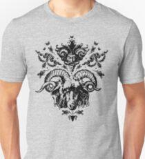 The Ram God's Blessing (black design) T-Shirt
