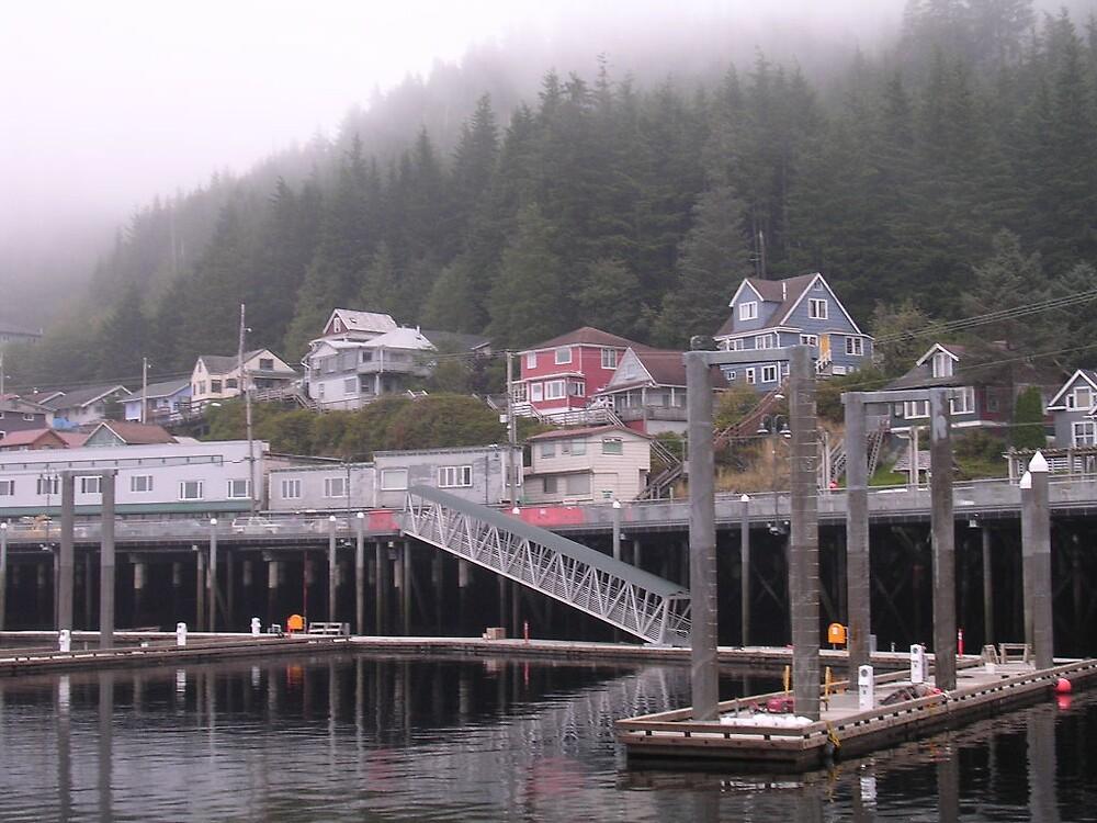 Ketchikan, Alaska by Sarah Waggener