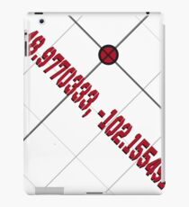 Secret Coordinates to Eden (Logan and Laura) iPad Case/Skin