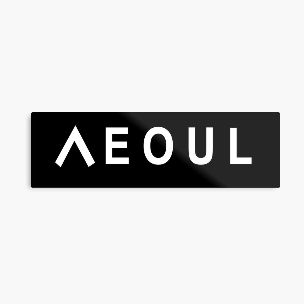 Seoul Metallbild