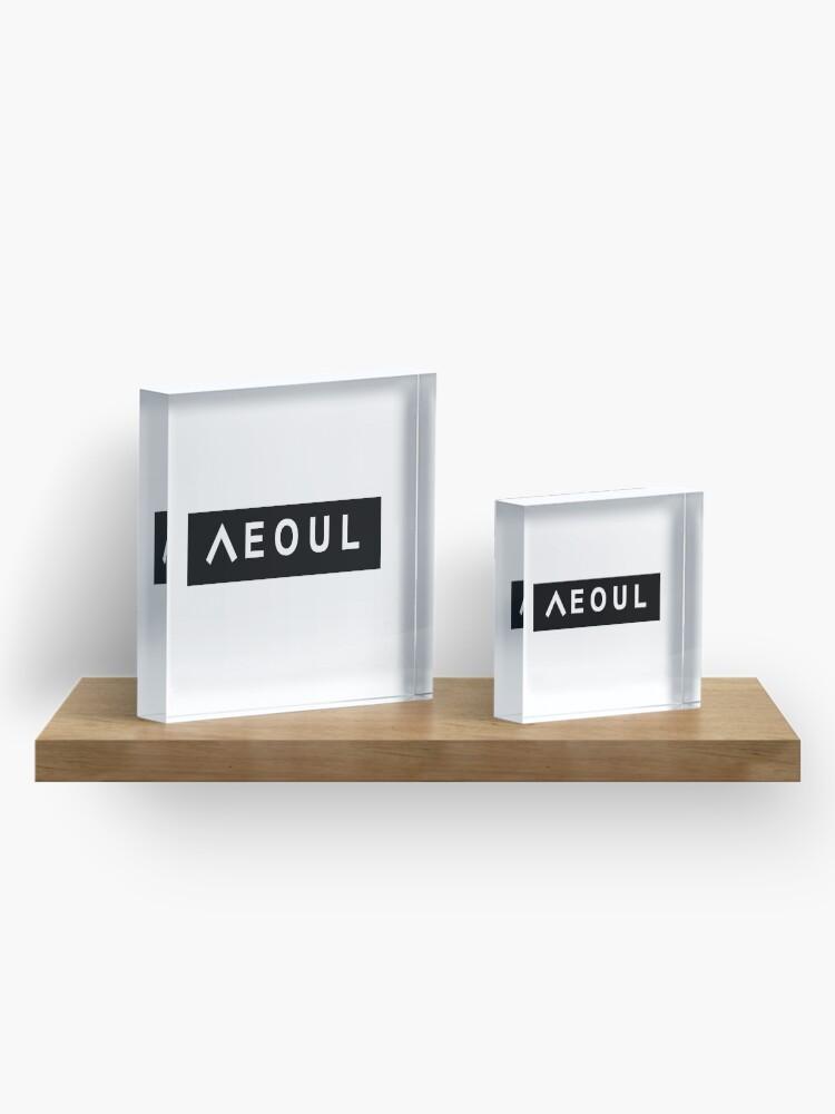 Alternative Ansicht von Seoul Acrylblock