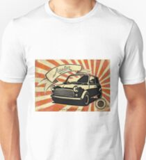 Austin mini Retro Unisex T-Shirt