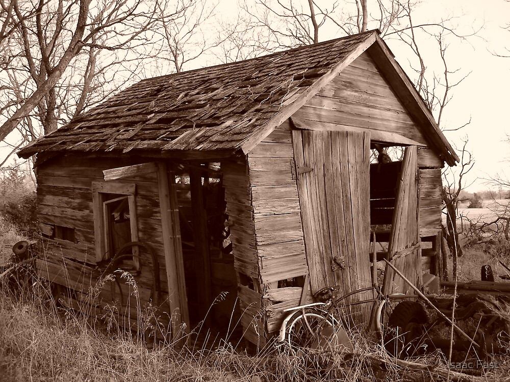 Grandpa's Shed by Isaac Fast