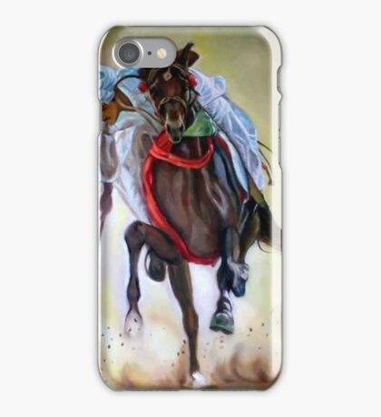 polo player iPhone Case/Skin