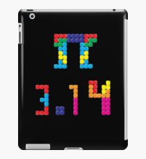 Pi Block Puzzle Video Game Math Pi Day T-Shirt iPad Case/Skin