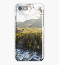 Banff, Alberta - Banff Springs Hotel iPhone Case/Skin