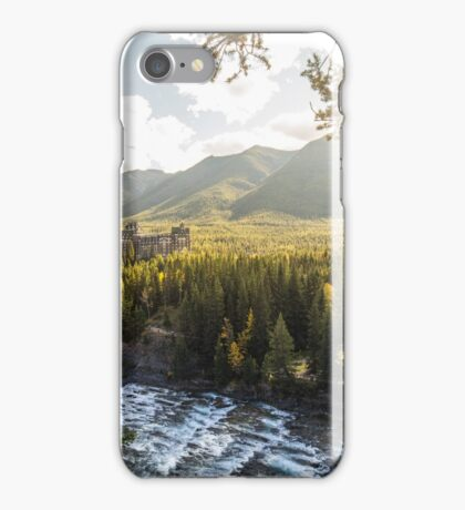 Banff, Alberta - Banff Springs Hotel iPhone Case/Skin