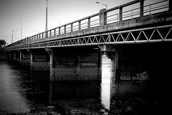 Ulverstone Bridge, Tasmania by Jodi Turner