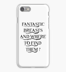 Fantastic Breasts iPhone Case/Skin