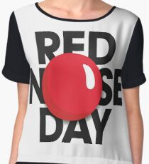 red nose day t shirts 2017 Chiffon Top