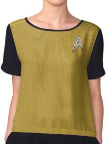 Star Trek Captain Kirk Chiffon Top