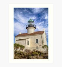 The Old Pt. Loma Lighthouse Art Print