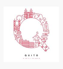 Quito Photographic Print