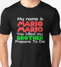 My Name is Mario Mario - WereWING T-Shirt
