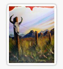Western Landscape Sticker