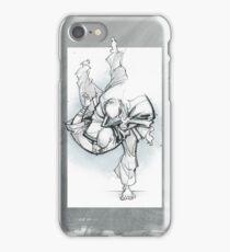 THROW 3_FADE iPhone Case/Skin