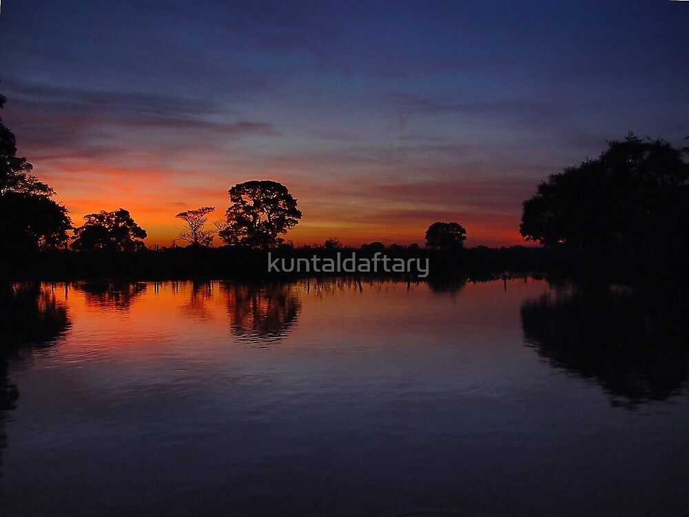 Pantanal Sunset 4 by kuntaldaftary
