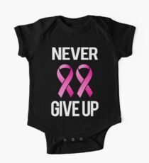 Never Give Up - 2 One Piece - Short Sleeve