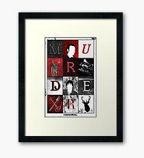 Hannibal Lecter Murder  Framed Print
