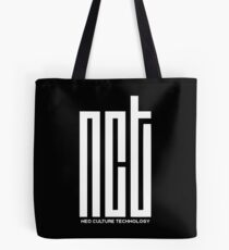 NCT white Tote Bag
