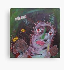 Outsider Art Wizard Of Odd Canvas Print