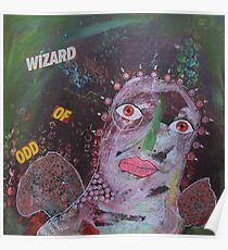 Outsider Art Wizard Of Odd Poster