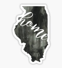 illinois is home Sticker
