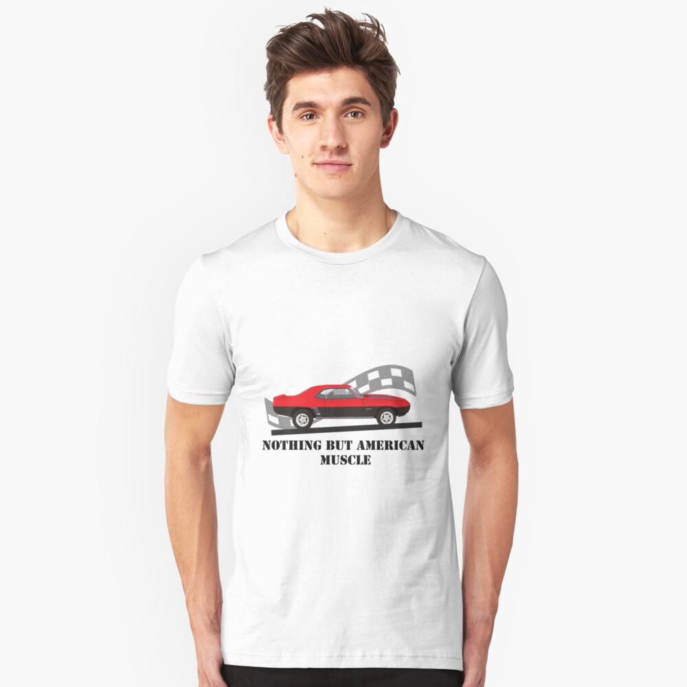American Muscle Unisex T-Shirt Front