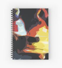 Graphic Tshirt Temple bells Artistic style Spiral Notebook