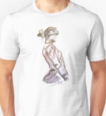 Girl Scribble Unisex T-Shirt